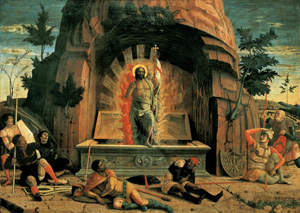 La Résurrection - Andrea Mantegna