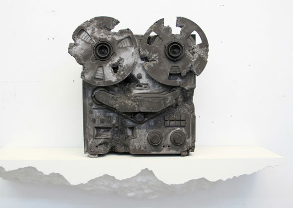 Altered Reel to Reel - Daniel Arsham