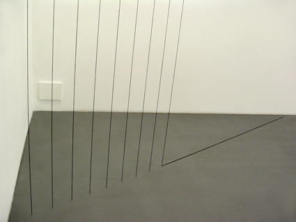 Sans titre (Sculptural Study, Cornered Construction) - Fred Sandback